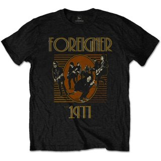FOREIGNER Est' 1977, Tシャツ<img class='new_mark_img2' src='https://img.shop-pro.jp/img/new/icons5.gif' style='border:none;display:inline;margin:0px;padding:0px;width:auto;' />