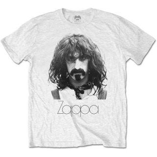 FRANK ZAPPA Thin Logo Portrait, Tシャツ<img class='new_mark_img2' src='https://img.shop-pro.jp/img/new/icons5.gif' style='border:none;display:inline;margin:0px;padding:0px;width:auto;' />