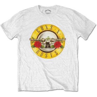 GUNS N' ROSES Classic Logo Wht, Tシャツ<img class='new_mark_img2' src='https://img.shop-pro.jp/img/new/icons5.gif' style='border:none;display:inline;margin:0px;padding:0px;width:auto;' />