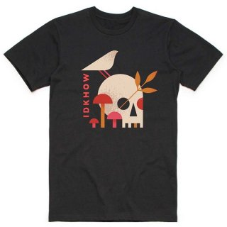 IDKHOW/I Dont Know How But They Found Me Mushroom Skull, Tシャツ<img class='new_mark_img2' src='https://img.shop-pro.jp/img/new/icons5.gif' style='border:none;display:inline;margin:0px;padding:0px;width:auto;' />