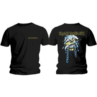 IRON MAIDEN Powerslave Head & Logo, Tシャツ<img class='new_mark_img2' src='https://img.shop-pro.jp/img/new/icons5.gif' style='border:none;display:inline;margin:0px;padding:0px;width:auto;' />