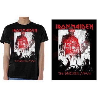 IRON MAIDEN The Wicker Man Smoke, Tシャツ<img class='new_mark_img2' src='https://img.shop-pro.jp/img/new/icons5.gif' style='border:none;display:inline;margin:0px;padding:0px;width:auto;' />