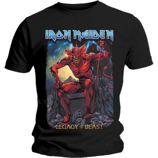 IRON MAIDEN Legacy of the Beast 2 Devil, Tシャツ<img class='new_mark_img2' src='https://img.shop-pro.jp/img/new/icons5.gif' style='border:none;display:inline;margin:0px;padding:0px;width:auto;' />