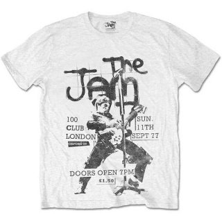 THE JAM 100 Club 77, Tシャツ<img class='new_mark_img2' src='https://img.shop-pro.jp/img/new/icons5.gif' style='border:none;display:inline;margin:0px;padding:0px;width:auto;' />
