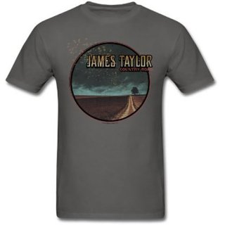 JAMES TAYLOR 2018 Tour Country Road, Tシャツ<img class='new_mark_img2' src='https://img.shop-pro.jp/img/new/icons5.gif' style='border:none;display:inline;margin:0px;padding:0px;width:auto;' />