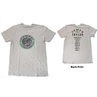 JAMES TAYLOR 2018 Tour Map, Tシャツ<img class='new_mark_img2' src='https://img.shop-pro.jp/img/new/icons5.gif' style='border:none;display:inline;margin:0px;padding:0px;width:auto;' />