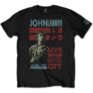JOHN LENNON Live in NYC, Tシャツ<img class='new_mark_img2' src='https://img.shop-pro.jp/img/new/icons5.gif' style='border:none;display:inline;margin:0px;padding:0px;width:auto;' />