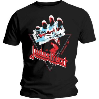 JUDAS PRIEST British Steel Hand Triangle, Tシャツ<img class='new_mark_img2' src='https://img.shop-pro.jp/img/new/icons5.gif' style='border:none;display:inline;margin:0px;padding:0px;width:auto;' />