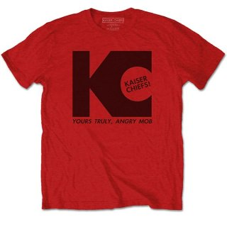KAISER CHIEFS Yours Truly Red, Tシャツ<img class='new_mark_img2' src='https://img.shop-pro.jp/img/new/icons5.gif' style='border:none;display:inline;margin:0px;padding:0px;width:auto;' />