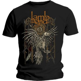 LAMB OF GOD Crow, Tシャツ<img class='new_mark_img2' src='https://img.shop-pro.jp/img/new/icons5.gif' style='border:none;display:inline;margin:0px;padding:0px;width:auto;' />