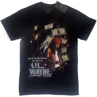 LIL WAYNE Got Money Homage, Tシャツ<img class='new_mark_img2' src='https://img.shop-pro.jp/img/new/icons5.gif' style='border:none;display:inline;margin:0px;padding:0px;width:auto;' />