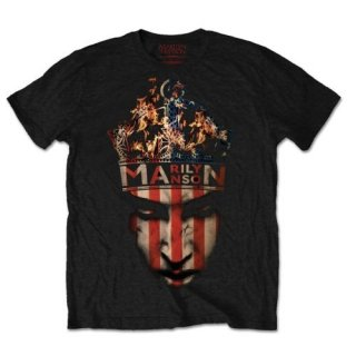 MARILYN MANSON Crown, Tシャツ<img class='new_mark_img2' src='https://img.shop-pro.jp/img/new/icons5.gif' style='border:none;display:inline;margin:0px;padding:0px;width:auto;' />
