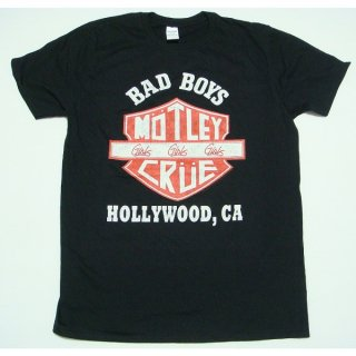 MOTLEY CRUE Bad Boys Shield, Tシャツ<img class='new_mark_img2' src='https://img.shop-pro.jp/img/new/icons5.gif' style='border:none;display:inline;margin:0px;padding:0px;width:auto;' />