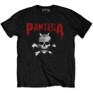 PANTERA Horned Skull Stencil, Tシャツ<img class='new_mark_img2' src='https://img.shop-pro.jp/img/new/icons5.gif' style='border:none;display:inline;margin:0px;padding:0px;width:auto;' />
