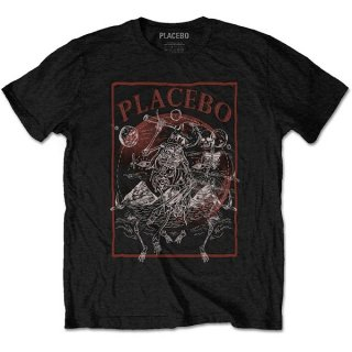 PLACEBO Astro Skeletons, Tシャツ<img class='new_mark_img2' src='https://img.shop-pro.jp/img/new/icons5.gif' style='border:none;display:inline;margin:0px;padding:0px;width:auto;' />