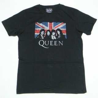 QUEEN Union Jack, Tシャツ<img class='new_mark_img2' src='https://img.shop-pro.jp/img/new/icons5.gif' style='border:none;display:inline;margin:0px;padding:0px;width:auto;' />