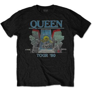 QUEEN Tour '80, Tシャツ<img class='new_mark_img2' src='https://img.shop-pro.jp/img/new/icons5.gif' style='border:none;display:inline;margin:0px;padding:0px;width:auto;' />