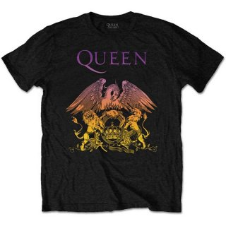QUEEN Gradient Crest, Tシャツ<img class='new_mark_img2' src='https://img.shop-pro.jp/img/new/icons5.gif' style='border:none;display:inline;margin:0px;padding:0px;width:auto;' />