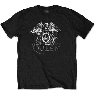 QUEEN Crest Logo, Tシャツ<img class='new_mark_img2' src='https://img.shop-pro.jp/img/new/icons5.gif' style='border:none;display:inline;margin:0px;padding:0px;width:auto;' />