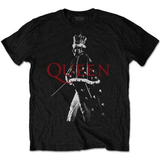 QUEEN Freddie Crown, Tシャツ<img class='new_mark_img2' src='https://img.shop-pro.jp/img/new/icons5.gif' style='border:none;display:inline;margin:0px;padding:0px;width:auto;' />