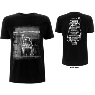 RAGE AGAINST THE MACHINE BOLA Euro Tour, Tシャツ<img class='new_mark_img2' src='https://img.shop-pro.jp/img/new/icons5.gif' style='border:none;display:inline;margin:0px;padding:0px;width:auto;' />