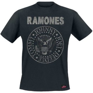 RAMONES Seal Hey Ho, Tシャツ<img class='new_mark_img2' src='https://img.shop-pro.jp/img/new/icons5.gif' style='border:none;display:inline;margin:0px;padding:0px;width:auto;' />