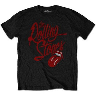 THE ROLLING STONES Script Logo, Tシャツ<img class='new_mark_img2' src='https://img.shop-pro.jp/img/new/icons5.gif' style='border:none;display:inline;margin:0px;padding:0px;width:auto;' />