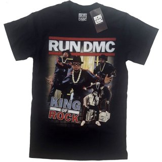 RUN DMC King of Rock Homage, Tシャツ<img class='new_mark_img2' src='https://img.shop-pro.jp/img/new/icons5.gif' style='border:none;display:inline;margin:0px;padding:0px;width:auto;' />