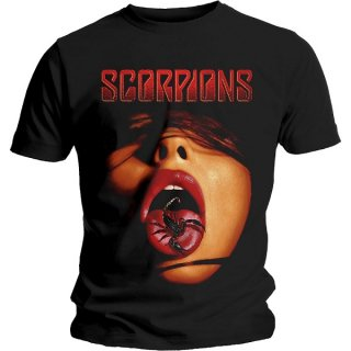 SCORPIONS Scorpion Tongue, Tシャツ<img class='new_mark_img2' src='https://img.shop-pro.jp/img/new/icons5.gif' style='border:none;display:inline;margin:0px;padding:0px;width:auto;' />