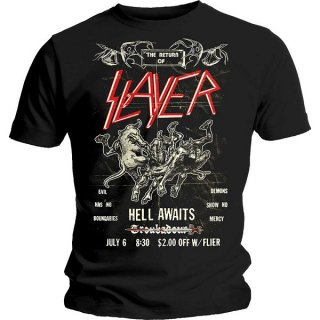 SLAYER Vintage Flyer, Tシャツ<img class='new_mark_img2' src='https://img.shop-pro.jp/img/new/icons5.gif' style='border:none;display:inline;margin:0px;padding:0px;width:auto;' />