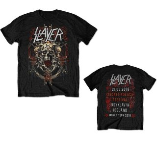 SLAYER Demonic Admat 21/06/18 Iceland Event, Tシャツ<img class='new_mark_img2' src='https://img.shop-pro.jp/img/new/icons5.gif' style='border:none;display:inline;margin:0px;padding:0px;width:auto;' />