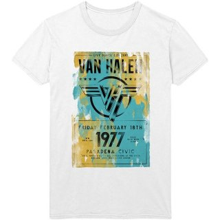 VAN HALEN Pasadena '77, Tシャツ<img class='new_mark_img2' src='https://img.shop-pro.jp/img/new/icons5.gif' style='border:none;display:inline;margin:0px;padding:0px;width:auto;' />