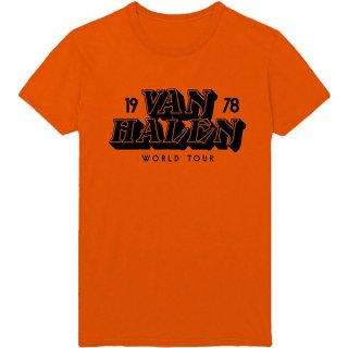 VAN HALEN World Tour '78, Tシャツ<img class='new_mark_img2' src='https://img.shop-pro.jp/img/new/icons5.gif' style='border:none;display:inline;margin:0px;padding:0px;width:auto;' />