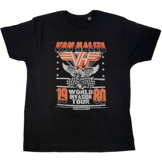 VAN HALEN Invasion Tour '80, Tシャツ<img class='new_mark_img2' src='https://img.shop-pro.jp/img/new/icons5.gif' style='border:none;display:inline;margin:0px;padding:0px;width:auto;' />