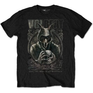 VOLBEAT Goat With Skull, Tシャツ<img class='new_mark_img2' src='https://img.shop-pro.jp/img/new/icons5.gif' style='border:none;display:inline;margin:0px;padding:0px;width:auto;' />