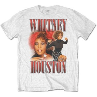 WHITNEY HOUSTON 90s Homage Wht, Tシャツ<img class='new_mark_img2' src='https://img.shop-pro.jp/img/new/icons5.gif' style='border:none;display:inline;margin:0px;padding:0px;width:auto;' />