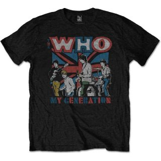 THE WHO My Generation Sketch, Tシャツ<img class='new_mark_img2' src='https://img.shop-pro.jp/img/new/icons5.gif' style='border:none;display:inline;margin:0px;padding:0px;width:auto;' />