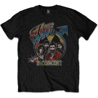 THE WHO Live in Concert, Tシャツ<img class='new_mark_img2' src='https://img.shop-pro.jp/img/new/icons5.gif' style='border:none;display:inline;margin:0px;padding:0px;width:auto;' />