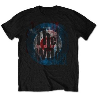 THE WHO Target Texture, Tシャツ<img class='new_mark_img2' src='https://img.shop-pro.jp/img/new/icons5.gif' style='border:none;display:inline;margin:0px;padding:0px;width:auto;' />