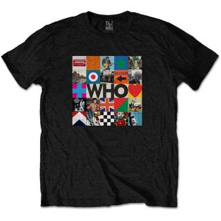 THE WHO 5x5 Blocks, Tシャツ<img class='new_mark_img2' src='https://img.shop-pro.jp/img/new/icons5.gif' style='border:none;display:inline;margin:0px;padding:0px;width:auto;' />