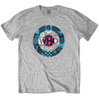 THE WHO Target Blocks, Tシャツ<img class='new_mark_img2' src='https://img.shop-pro.jp/img/new/icons5.gif' style='border:none;display:inline;margin:0px;padding:0px;width:auto;' />