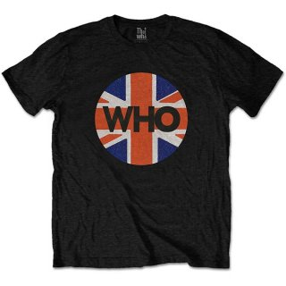 THE WHO Union Jack Circle, Tシャツ<img class='new_mark_img2' src='https://img.shop-pro.jp/img/new/icons5.gif' style='border:none;display:inline;margin:0px;padding:0px;width:auto;' />