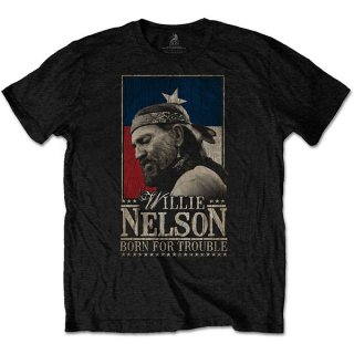 WILLIE NELSON Born For Trouble, Tシャツ<img class='new_mark_img2' src='https://img.shop-pro.jp/img/new/icons5.gif' style='border:none;display:inline;margin:0px;padding:0px;width:auto;' />
