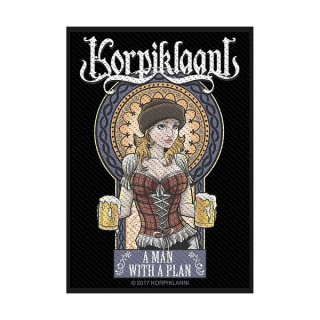 KORPIKLAANI A Man With A Plan, パッチ