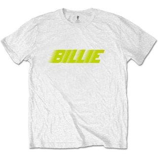 BILLIE EILISH Racer Logo Wht, Tシャツ