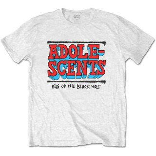 THE ADOLESCENTS Kids Of The Black Hole Wht, Tシャツ