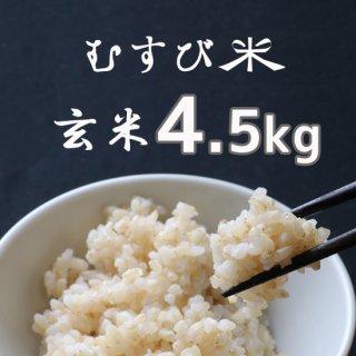 むすび米 玄米4.5kg