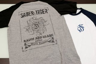 HALOS AND GLARE World Premiere ライヴTシャツ
