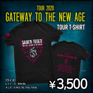 TOUR 2020 - GATEWAY TO THE NEW AGE ツアーTシャツ