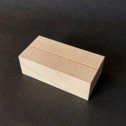 木のカード立て(メープル)角長